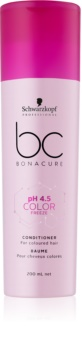 Schwarzkopf Professional BC Bonacure pH 4,5 Color Freeze балсам за боядисана коса