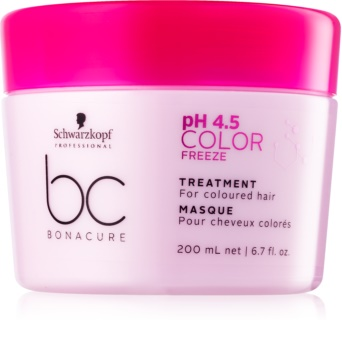 Schwarzkopf Professional BC Bonacure pH 4,5 Color Freeze Maske für gefärbtes Haar