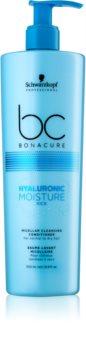 Schwarzkopf Professional BC Bonacure Hyaluronic Moisture Kick mizellen Reinigungsconditioner für trockenes Haar