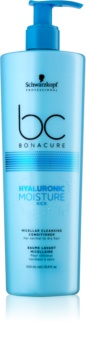 Schwarzkopf Professional BC Bonacure Hyaluronic Moisture Kick мицеларен почистващ балсам за суха коса