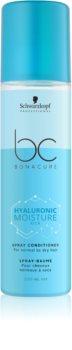 Schwarzkopf Professional BC Bonacure Hyaluronic Moisture Kick Hydraterende Conditioner Spray  voor Normaal tot Droog Haar