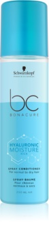 Schwarzkopf Professional BC Bonacure Hyaluronic Moisture Kick Kosteuttava Hoitoaine Suihkeessa Normaalista Kuiviin Hiuksiin