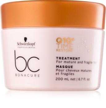 Schwarzkopf Professional BC Bonacure Time Restore Q10 masque pour cheveux fins à normaux