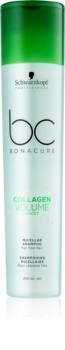 Schwarzkopf Professional BC Bonacure Volume Boost Mizellen-Shampoo für Haare ohne Volumen