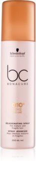 Schwarzkopf Professional BC Bonacure Time Restore Q10 Elvyttävä Suihke Aikuisille Ja Hauraille Hiuksille