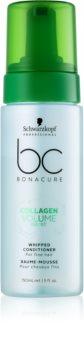 Schwarzkopf Professional BC Bonacure Volume Boost pjenasti regenerator za nježnu kosu