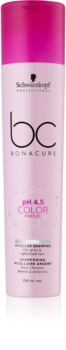 Schwarzkopf Professional BC Bonacure pH 4,5 Color Freeze champú micelar para cabello decolorado