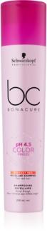 Schwarzkopf Professional BC Bonacure pH 4,5 Color Freeze șampon micelar pentru nuante de par roscat
