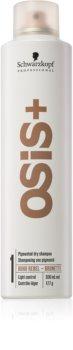 Schwarzkopf Professional Osis+ Boho Rebel erfrischendes trockenes Shampoo für braune Farbnuancen des Haares