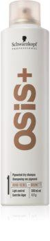 Schwarzkopf Professional Osis+ Boho Rebel shampoo secco rinfrescante per capelli castani