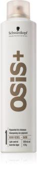 Schwarzkopf Professional Osis+ Boho Rebel osvěžující suchý šampon pro tmavé vlasy