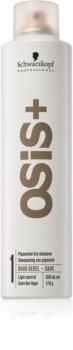 Schwarzkopf Professional Osis+ Boho Rebel șampon uscat înviorător pentru părul închis la culoare