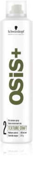 Schwarzkopf Professional Osis+ Texture Craft spray texturizzante per capelli