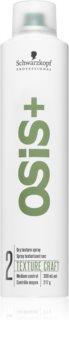 Schwarzkopf Professional Osis+ Texture Craft Texturen-Sprühnebel für das Haar