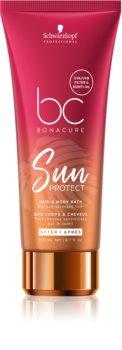 Schwarzkopf Professional BC Bonacure Sun Protect Suojaava Hiustenpesuaine hiuksille ja vartalolle