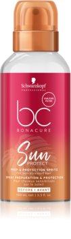 Schwarzkopf Professional BC Bonacure Sun Protect Beschermende Mist  voor beschadigd Haar door Chloor, Zon en Zoutwater