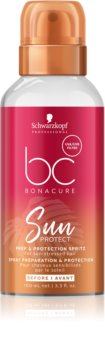 Schwarzkopf Professional BC Bonacure Sun Protect προστατευτική ομίχλη για μαλλιά επηρεασμένα από χλώριο, ήλιο και το αλμυρό νερό