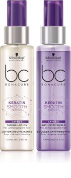 Schwarzkopf Professional BC Bonacure Keratin Smooth Perfect serum dwufazowe do włosów nieposłusznych i puszących się