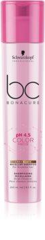 Schwarzkopf Professional BC Bonacure pH 4,5 Color Freeze Shampoo mit Farbschutz für dunkelbraunes und hellbraunes Haar
