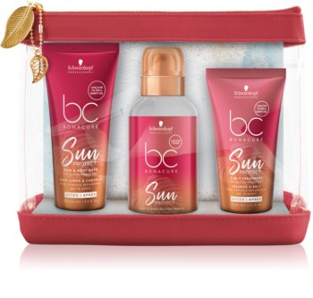 Schwarzkopf Professional BC Bonacure Sun Protect Cosmetic Set (for Sun-Stressed Hair) for Women