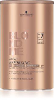 Schwarzkopf Professional Blondme pó iluminador premium com argila