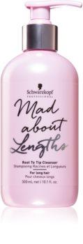 Schwarzkopf Professional Mad About Lengths čisticí šampon pro všechny typy vlasů