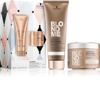 Schwarzkopf Professional Blondme ajándékszett (szőke hajra)