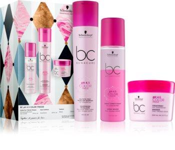 Schwarzkopf Professional BC Bonacure pH 4,5 Color Freeze dárková sada (pro barvené vlasy)