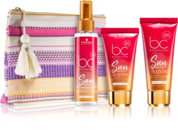 Schwarzkopf Professional BC Bonacure Sun Protect kosmetická sada pro vlasy namáhané sluncem