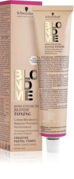 Schwarzkopf Professional Blondme Toning Tönung-Haarfarbe
