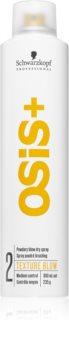Schwarzkopf Professional Osis+ Texture Blow spray cu pulbere uscată pentru volum