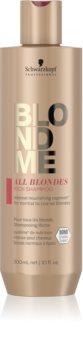 Schwarzkopf Professional Blondme All Blondes Rich подхранващ шампоан  за груба коса