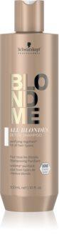 Schwarzkopf Professional Blondme All Blondes Detox șampon detoxifiant pentru curățare pentru parul blond cu suvite
