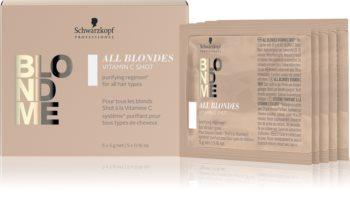 Schwarzkopf Professional Blondme All Blondes Detox Vitamiini Tiiviste Vaaleille Ja Korostetuille Hiuksille
