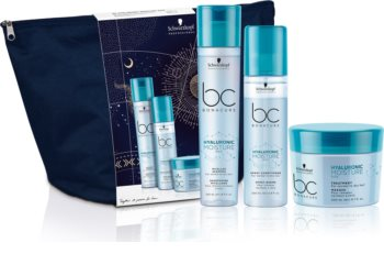 Schwarzkopf Professional BC Bonacure Hyaluronic Moisture Kick Geschenkset (für trockenes und normales Haar)