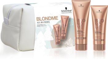 Schwarzkopf Professional Blondme set cadou II. (pentru par blond)