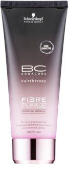 Schwarzkopf Professional BC Bonacure Fibreforce champú revitalizador para cabello maltratado o dañado