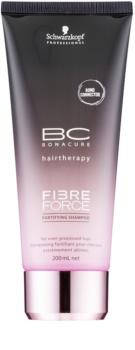 Schwarzkopf Professional BC Bonacure Fibreforce Energisoiva Hiustenpesuaine Vaurioituneille Hiuksille