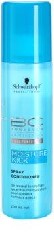 Schwarzkopf Professional BC Bonacure Moisture Kick condicionador em spray  para cabelo normal a seco