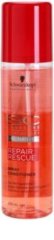 Schwarzkopf Professional BC Bonacure Peptide Repair Rescue acondicionador regenerador en spray  para cabello maltratado o dañado