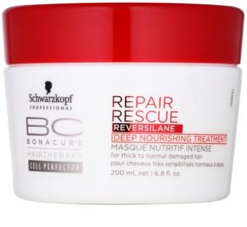 Schwarzkopf Professional BC Bonacure Repair Rescue tratamiento de nutrición profunda para cabello maltratado o dañado
