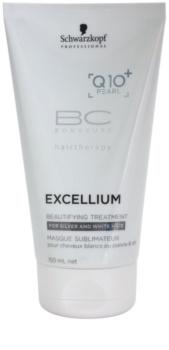 Schwarzkopf Professional BC Bonacure Excellium Beautifying tratamiento embellecedor del tono del cabello canoso y blanco