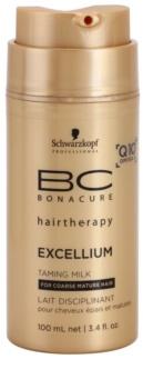 Schwarzkopf Professional BC Bonacure Excellium Taming leche alisante protector de calor para el cabello