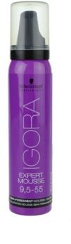 Schwarzkopf Professional IGORA Expert Mousse barvicí pěna na vlasy