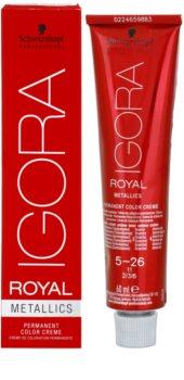 Schwarzkopf Professional IGORA Royal Mettalics Hair Color