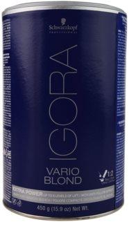 Schwarzkopf Professional IGORA Vario Blond pudră pentru decolorare și crearea șuvițelor