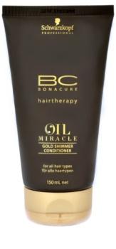 Schwarzkopf Professional BC Bonacure Oil Miracle Argan Oil condicionador para todos os tipos de cabelos