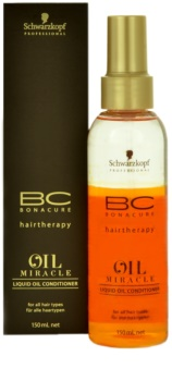 Schwarzkopf Professional BC Bonacure Oil Miracle Argan Oil Liquid Oil Conditioner For All Hair Types