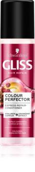 Schwarzkopf Gliss Colour Perfector регенериращ балсам за боядисана коса и коса с кичури