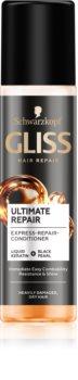 Schwarzkopf Gliss Ultimate Repair regenerierender spülfreier Conditioner für trockenes und beschädigtes Haar